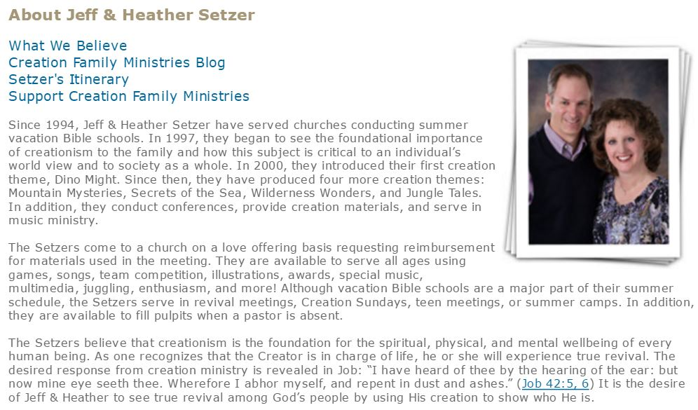 about-the-setzers family truth ministries