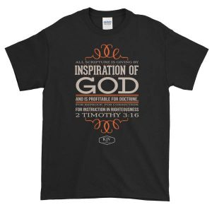 inspired word t shirt