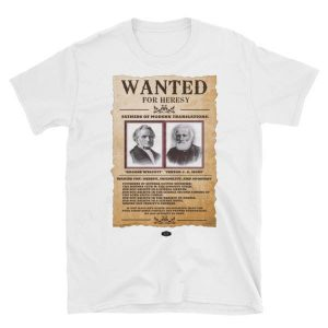 wanted for heresy shirt