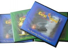 CD Albums Creation, Coral Island Adventures is like Jonathan Park or Adventures in Odyssey!